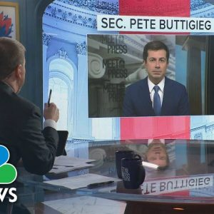 Full Buttigieg Interview: 'There Are Some X-factors' On Supply Chain Slowdown