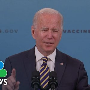 'We Have A Lot More To Do': Biden Discusses Covid Response And Vaccination Efforts
