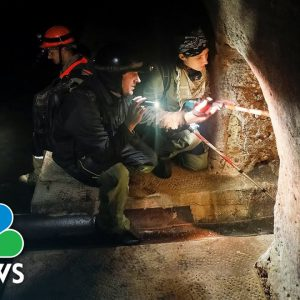 Hiding Spots Used By Jews During Nazi Holocaust Uncovered In Ukrainian Sewer