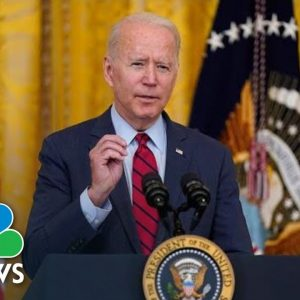 Biden Delivers Remarks On Supply Chain Efforts   NBC News