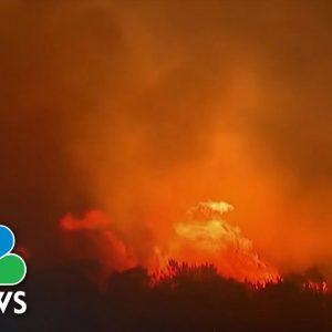 California Firefighters Battling Explosive Alisal Fire