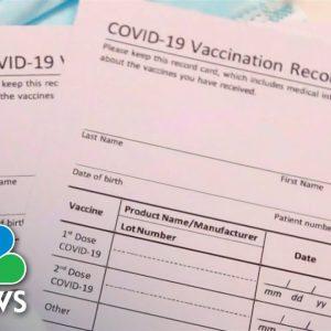 Covid Vaccine Mandates Fueling Showdowns Nationwide