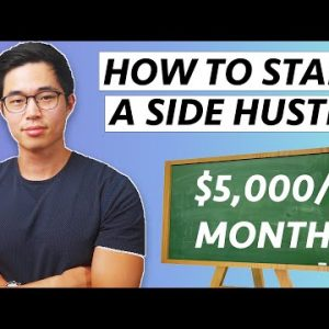 How to Start A Side Hustle in 2021 (DOUBLE your Income!)