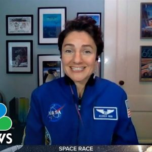 NASA Astronaut: 'We Need These Partnerships' With Private Businesses