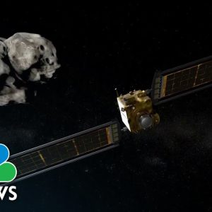 NASA Mission Will Crash Craft To Redirect Asteroid