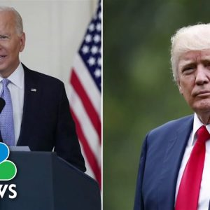 Biden Declines Trump Request To Withhold White House Records From Jan. 6 Committee