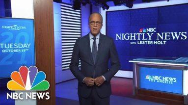 Nightly News Full Broadcast - October 19th