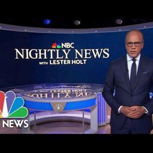 Nightly News Full Broadcast - October 7th