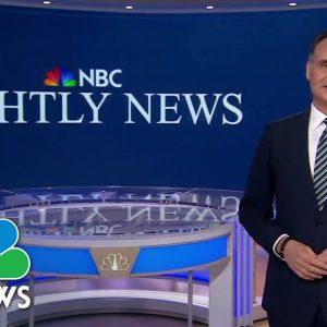 Nightly News Full Broadcast - October 9th