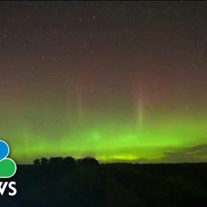Northern Lights In Minnesota Captured In Stunning Video
