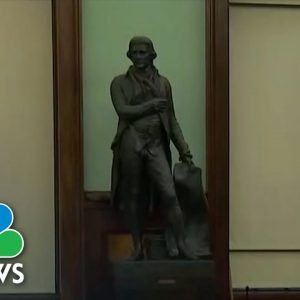 Thomas Jefferson Statue To Be Removed From New York's City Hall